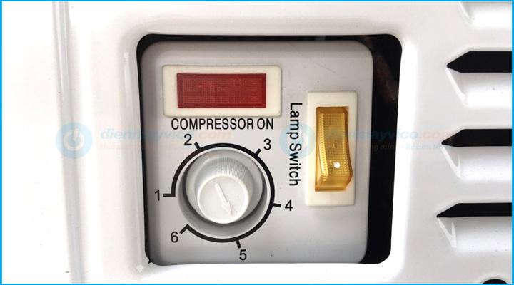 Bộ điều chỉnh Tủ đông kính cong Sanden Intercool SNC-0435