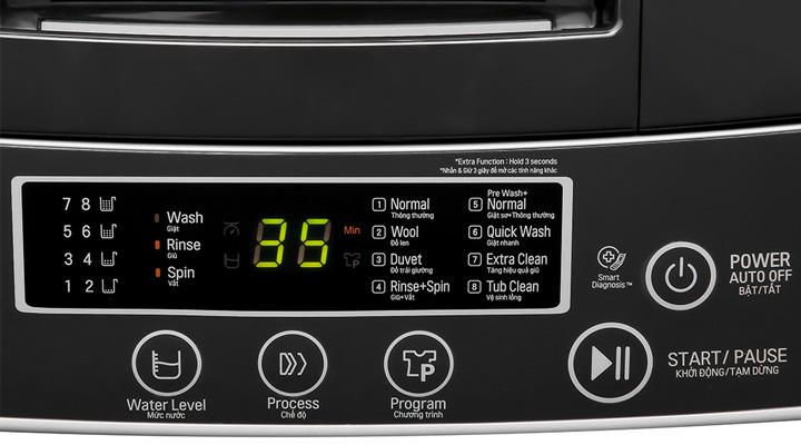 Bộ điều khiển Máy giặt LG Inverter T2108VSPM2 8 kg