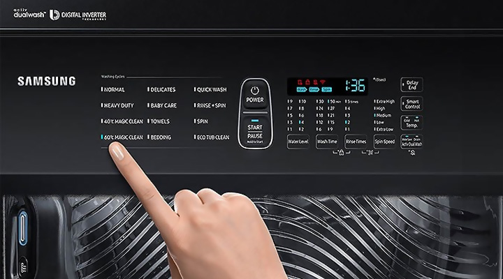 Bộ điều khiển Máy giặt Samsung Inverter WA22R8870GV/SV 22kg