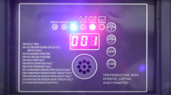 Bộ điều khiển Máy làm đá Snooker SK-35C 35Kg/ Ngày