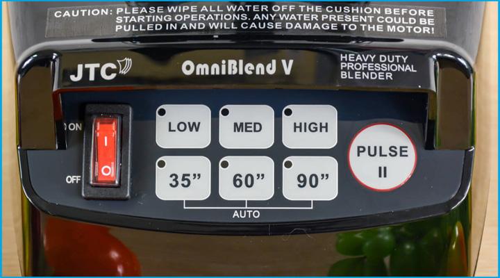Bộ điều khiển Máy xay sinh tố đa năng Omniblend VTM-800A