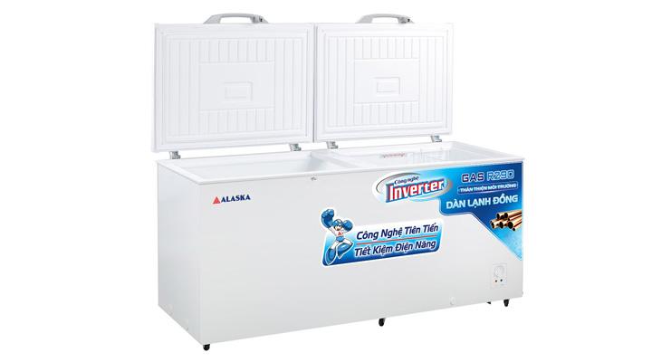 Cánh cửa Tủ đông nắp dỡ Alaska Inverter HB-1200CI 1015 lít