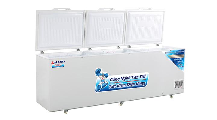 Cánh cửa Tủ đông nắp dỡ Alaska Inverter HB-1500CI