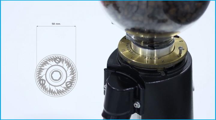 Chi tiết Máy xay cà phê Fiorenzato F4 Eco