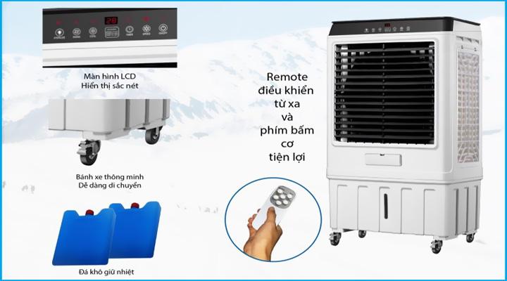 Chi tiết Quạt làm mát hơi nước Hawin HSN-100