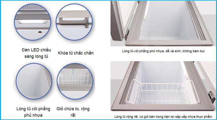 Chi tiết Tủ đông Darling DMF-4799ASI