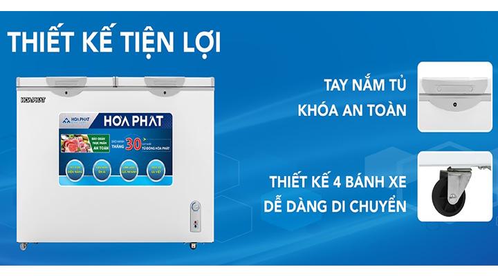Chi tiết Tủ đông Funiki Hòa Phát HCF 666S1Đ2 352 lít