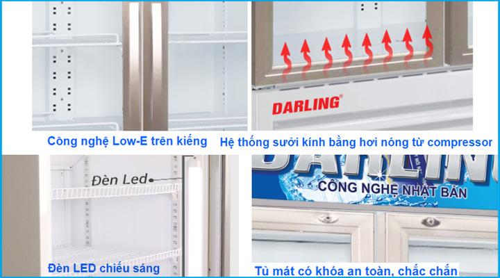 Chi tiết Tủ đông Darling DL-7000A