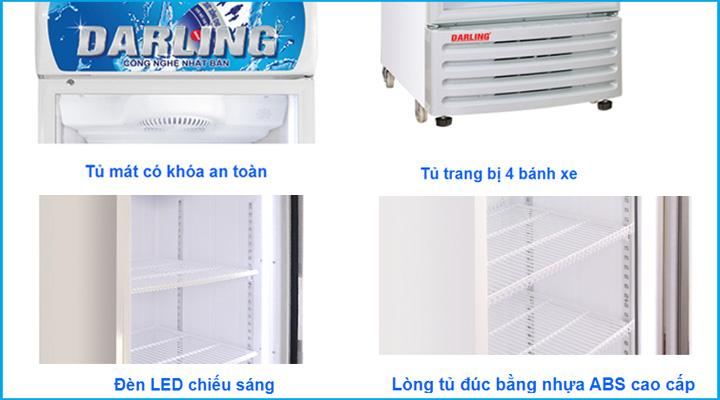 Chi tiết Tủ mát Darling DL-3600A4