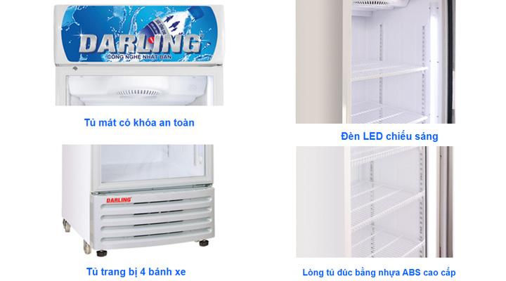 Chi tiết Tủ mát Darling Inverter DL-3600A5