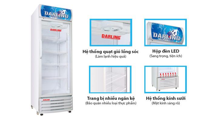 Chi tiết Tủ mát Darling DL-4000A2