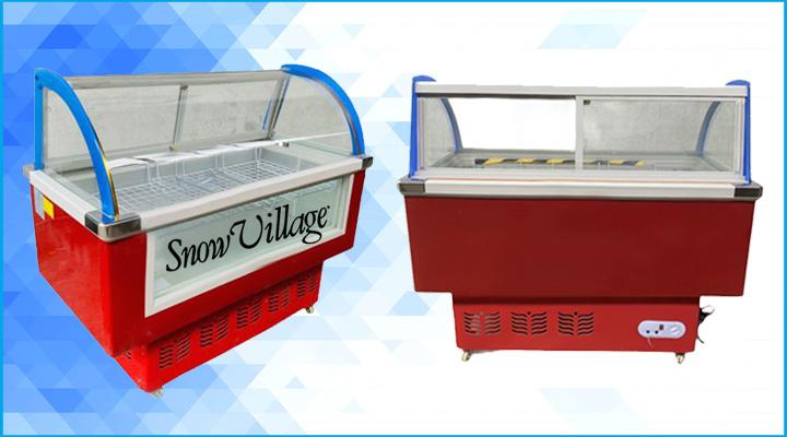 Hình ảnh mô tả Tủ trưng bày thịt nguội Snow Village 1m3