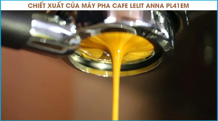 Chiết xuất Máy pha cà phê Lelit Anna PL41EM