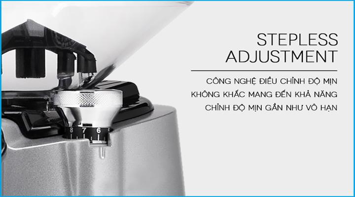 Công nghệ Máy xay cà phê Eureka Zenith 65 M230 Silver