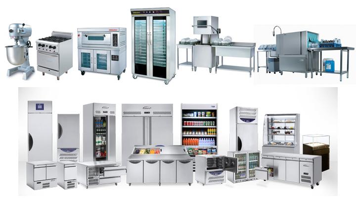 Danh sách thiết bị bếp công nghiệp