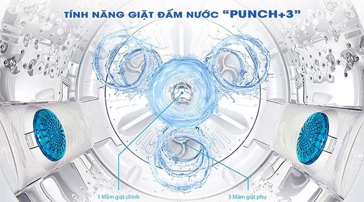 Giặt đấm nước Máy giặt LG Inverter T2555VS2M 15.5 kg