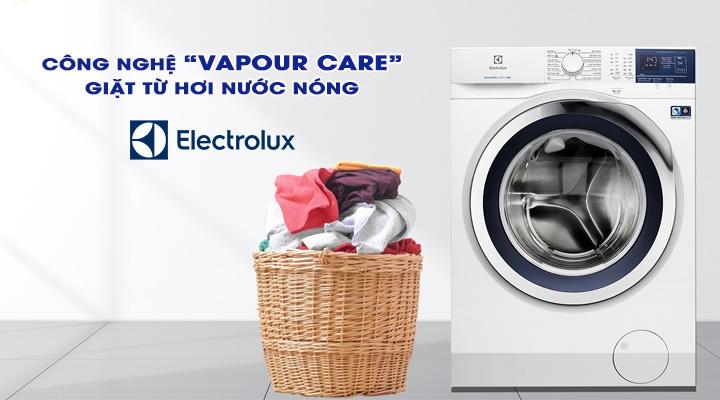 Giặt hơi nước Máy giặt Electrolux Inverter EWF1024BDWA 10 Kg
