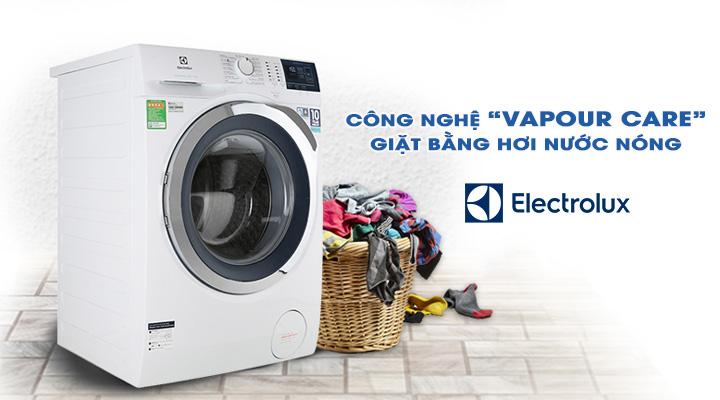 Giặt nước nóng Máy giặt Electrolux Inverter EWF8024BDWA 8 kg