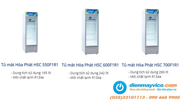 Hình ảnh Tủ mát Funiki Hòa Phát HSC 550F1R1 195 lít