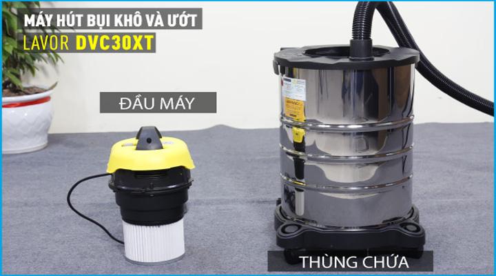 Hình mô tả Máy hút bụi khô và ướt Lavor DVC 30XT