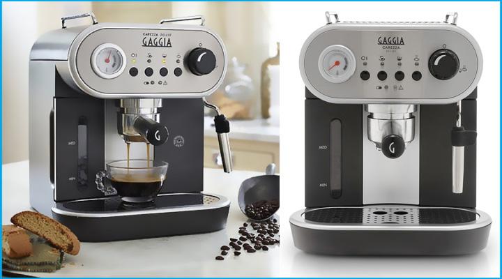 Hình mô tả Máy pha cà phê Gaggia Carezza Deluxe