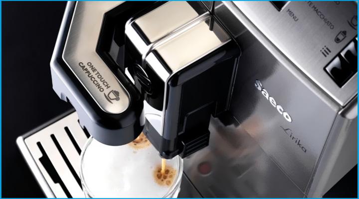 Hình mô tả Máy pha cà phê Saeco Lirika OTC