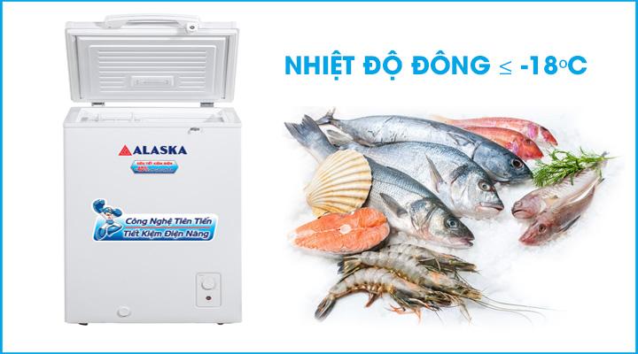 Hình mô tả tủ đông Alaska BD-150