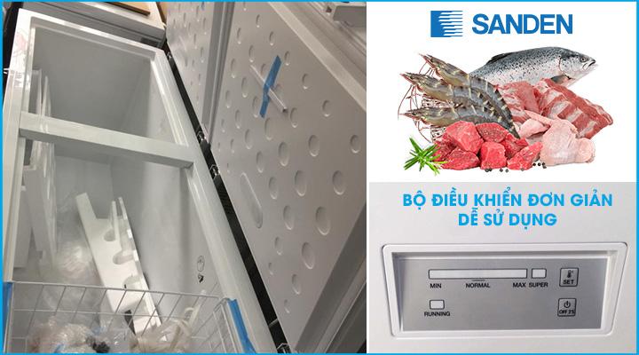 Hình mô tả Tủ đông Sanden Intercool SNH-0605