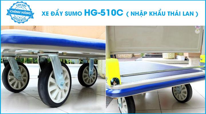 Hình mô tả xe đẩy hàng Sumo HG-510C