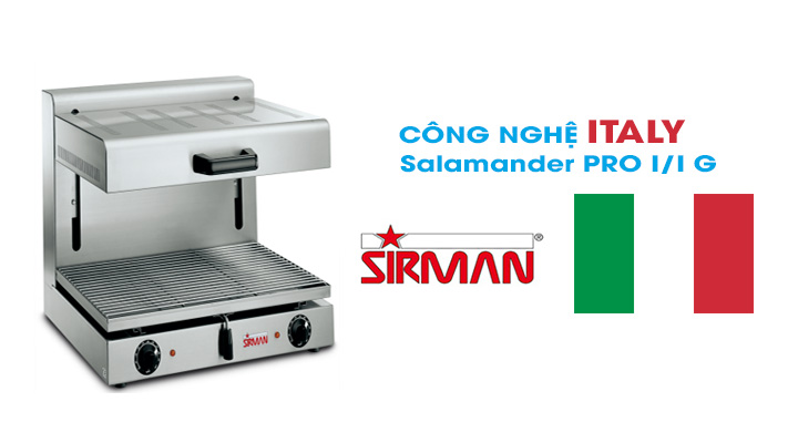 Hình nội dung Bếp nướng Sirman Salamander PRO I/I G