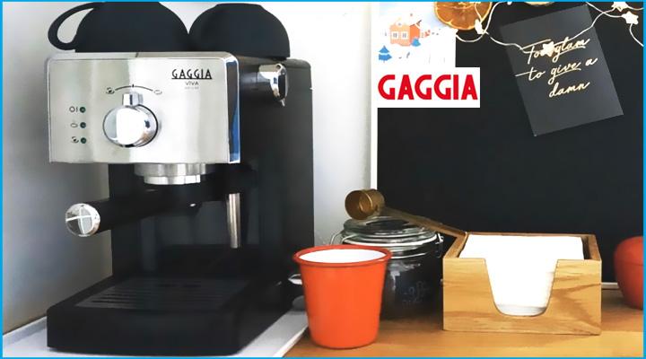 Hình nội dung Máy pha cà phê Gaggia Viva Deluxe
