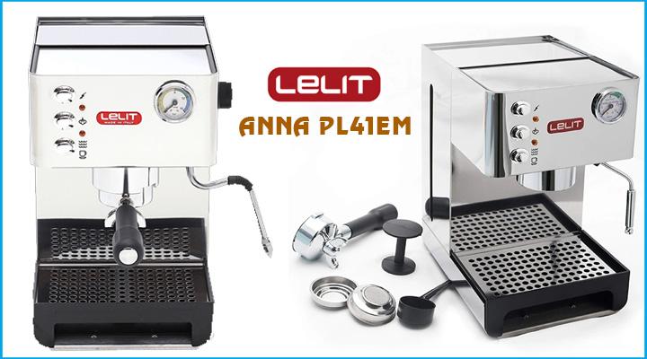 Hình nội dung Máy pha cà phê Lelit Anna PL41EM