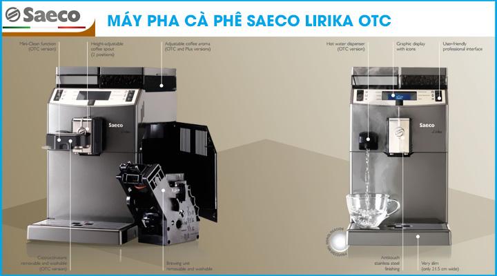 Hình nội dung Máy pha cà phê Saeco Lirika OTC