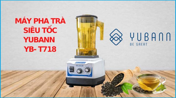 Hình nội dung Máy pha trà Yubann YB-T718