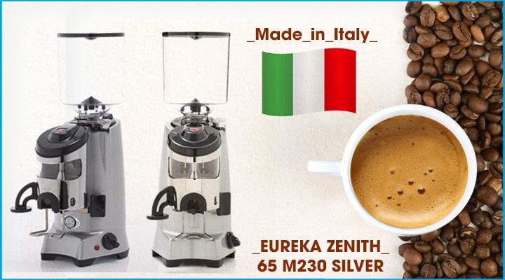 Hình nội dung Máy xay cà phê Eureka Zenith 65 M230 Silver