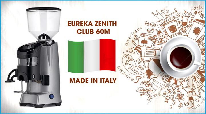 Hình nội dung Máy xay cà phê Eureka Zenith Club 60M