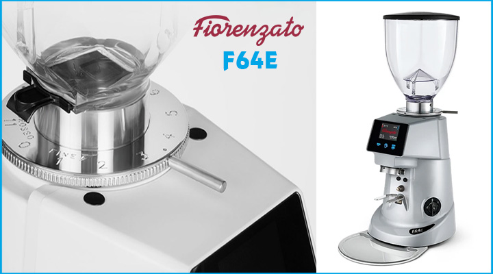 Hình nội dung Máy xay cà phê Fiorenzato F64E