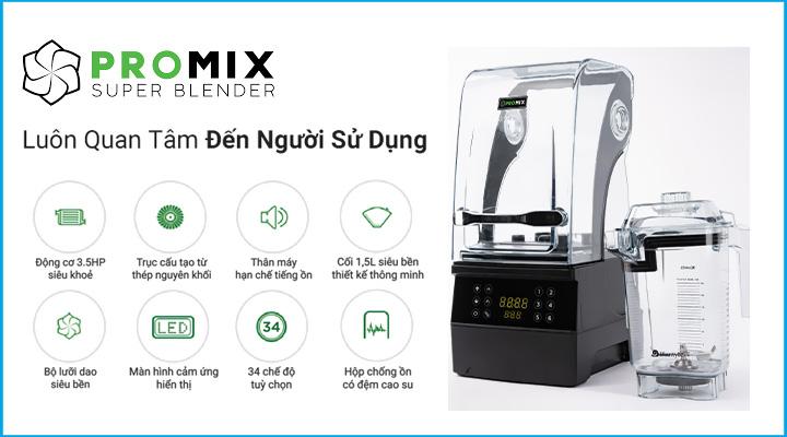 Hình nội dung Máy xay sinh tố đa năng Promix PM-S900