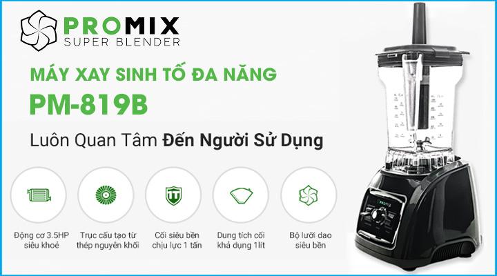 Hình nội dung Máy xay sinh tố đa năng Promix PM-819B