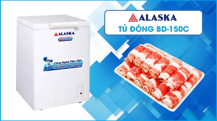 Hình nội dung tủ đông Alaska BD-150