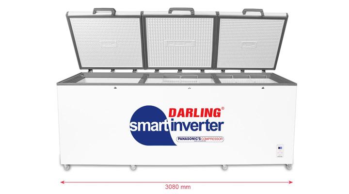 Tủ đông Darling Inverter DMF-1579ASI