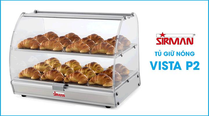 Hình nội dung Tủ giữ nóng thực phẩm Sirman VISTA P2