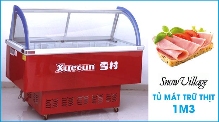 Tủ mát trưng bày thịt Snow Village 1m3