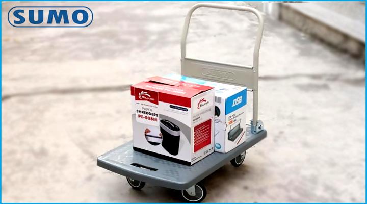 Hình nội dung xe đẩy hàng Sumo GP-210