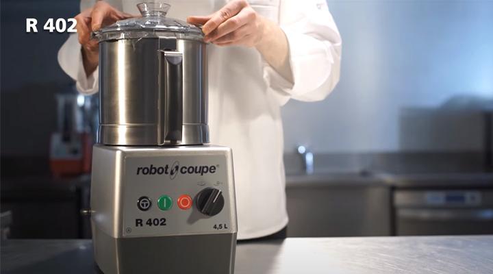 Hình thực tế Máy cắt rau củ quả Robot Coupe R 402