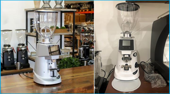 Hình thực tế Máy xay cà phê Fiorenzato F64E