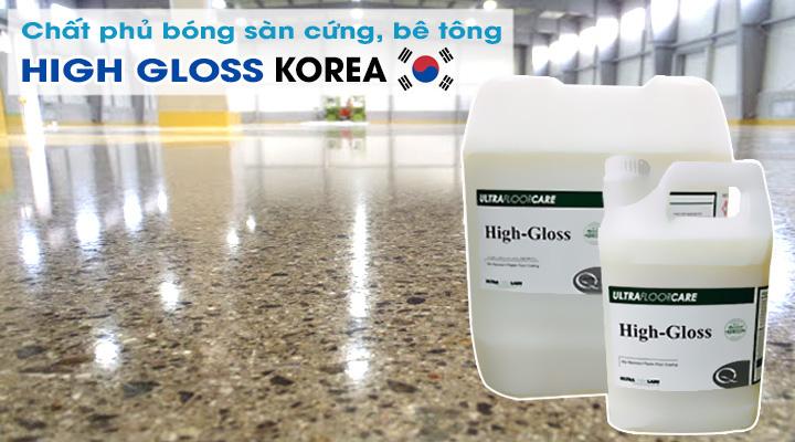 Hóa chất phủ bóng sàn HIGH GLOSS