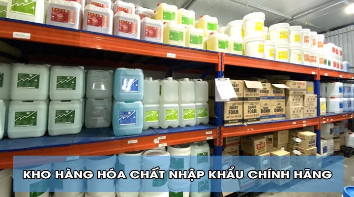 Kho hàng hóa chất