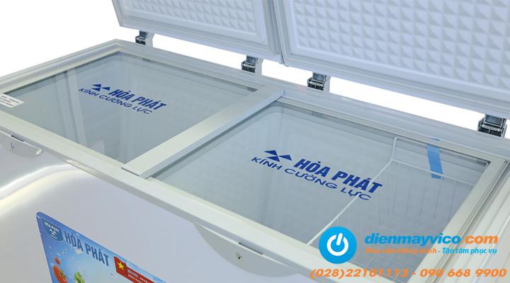Mặt kính Tủ đông mát Funiki Hòa Phát HCF 506S2N2 205 lít