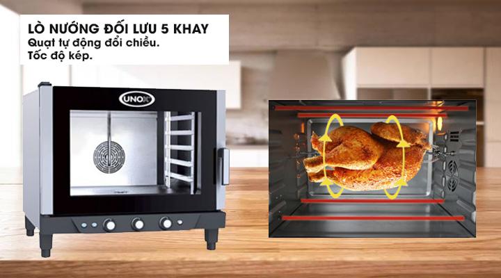Lò nướng Unox 5 Khay